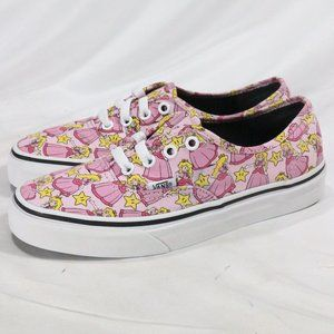 VANS x Nintendo Authentic Princess Peach Sneakers